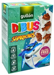 Gullon Sharkies 250 g.