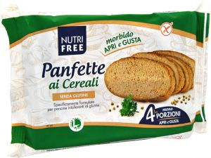 Nutrifree Panfette ai Cereali 300 g.