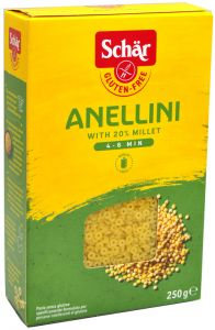 Schär Pasta Anellini 250 g.