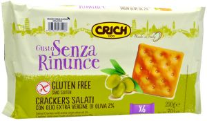 Crich Crackers Salati 200 g.