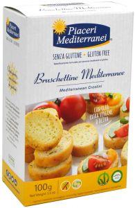 Piaceri Mediterranei Bruschettine Mediterranee 100 g.