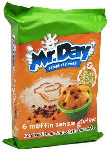 Mr. Day Muffin Cioccolato 6 X 42 g.