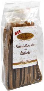 Le Celizie Pappardelle di Mais e Riso con Radicchio 250 g.