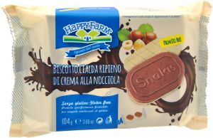 Happy Farm Snakis Nocciola 4 X 26 g.