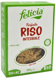 Felicia Farfalle di Riso Integrale Bio 250 g.