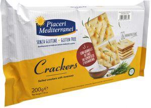 Piaceri Mediterranei Crackers 200 g.