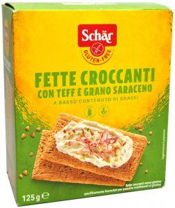 Schär Fette Croccanti Teff e Grano Saraceno 125 g.