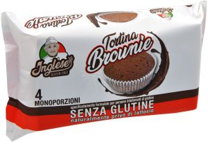 Inglese Tortina Brownie 4 X 40 g.