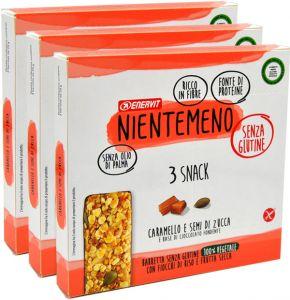 Enervit Snack Rosso Fiocchi di Riso e Frutta Secca 3 x 69 g.
