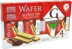 Guidolce Wafer al Cacao 4 X 45 g.