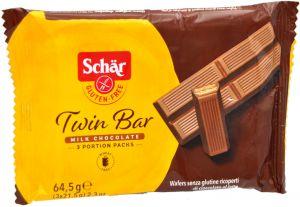Schär Twin Bar 3 X 21,5 g.