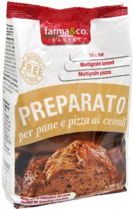 Farma&Co Mix Pane e Pizza ai Cereali 1 Kg.