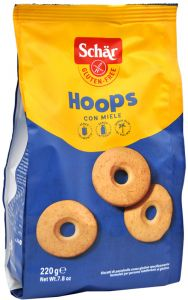 Schär Hoops 220 g.