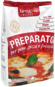 Farma&Co Mix Pane Pizza Focaccia 1 Kg.