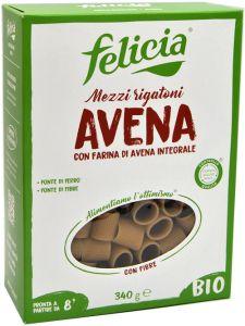 Felicia Mezzi Rigatoni con Farina di Avena Bio 340 g.