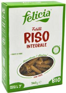 Felicia Fusilli di Riso Integrale Bio 340 g.
