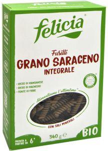 Felicia Fusilli di Grano Saraceno Bio 340 g.